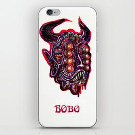 Masked Bobo iPhone Skin