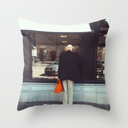 Afternoon in Bruges Throw Pillow