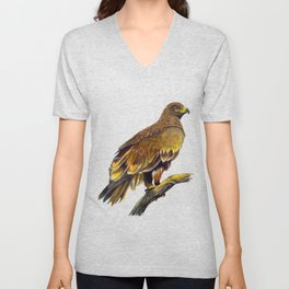 Steppe Eagle Unisex V-Neck
