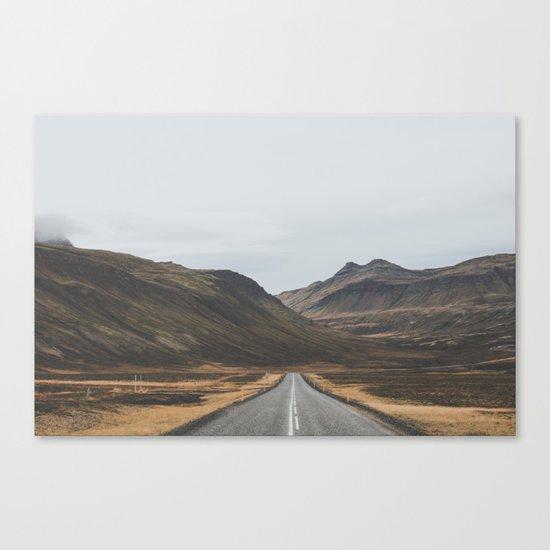 Innra Hvannagil, Iceland Canvas Print