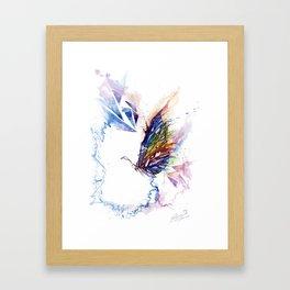The spectrum of life Framed Art Print