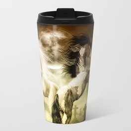 Midnight Stallion Travel Mug