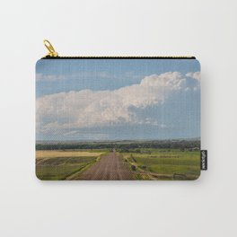 Summer Roads, Glasgow, Montana 5 Carry-All Pouch