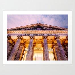 Berlin Reichstag Fine Art Print Art Print