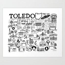 Toledo Ohio Art Print