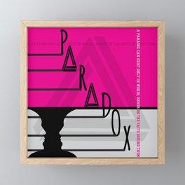 Paradox 2 Framed Mini Art Print