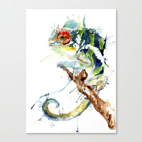 My Chameleon Canvas Print