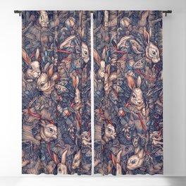 Bunnerflies Blackout Curtain