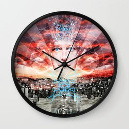 """The Dream Of A Love Supreme"" Wall Clock"