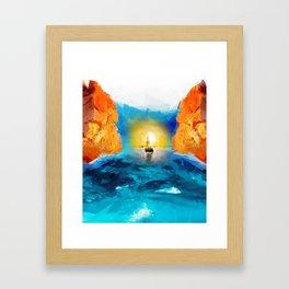 last hope Framed Art Print