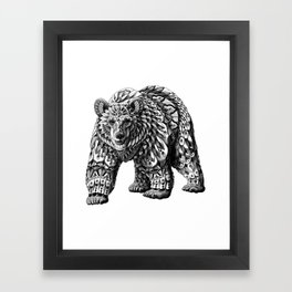 Ornate Bear Framed Art Print
