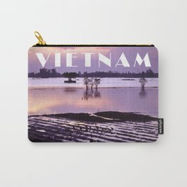 MEKONGDELTA in VIETNAM Carry-All Pouch