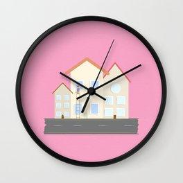 Window Washer Wall Clock
