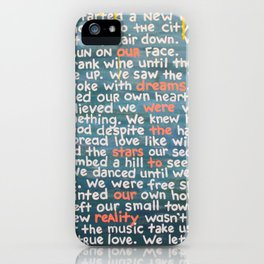 The Dreamers iPhone Case