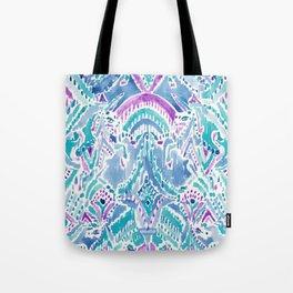 UNICORN DAYDREAMS Mythical Watercolor Tapestry Tote Bag