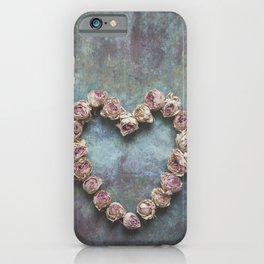 Heart of Roses iPhone Case