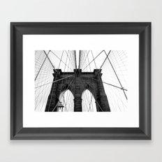 Brooklyn Web II Framed Art Print
