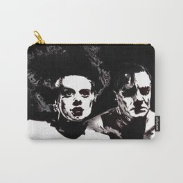 Dr Frankenstein and the Bride of the Monster Carry-All Pouch