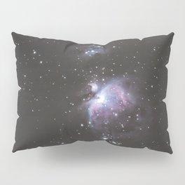 Orion And Running man Nebula's Pillow Sham