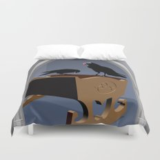 The king's gift Duvet Cover