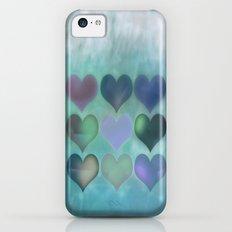Love Hearts iPhone 5c Slim Case