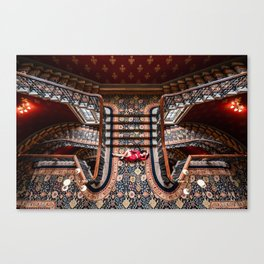 Delete Stairs Canvas Print