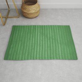 Green Corrugated Metal Wall Rug