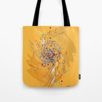 splatter Tote Bags featuring Splatter by Anders Holm