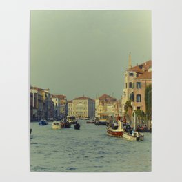 Venice, Grand Canal 1 Poster