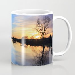 Floodplain at Sunset 1 Coffee Mug