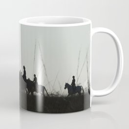 The Foxes View of the Hunt Coffee Mug
