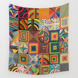 Frank Stella Montage Wall Tapestry