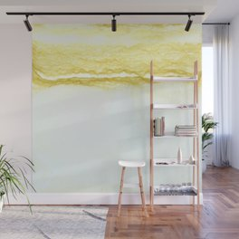 Yellow Surf Wall Mural