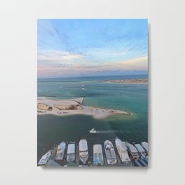 Harbor Sunrise Metal Print