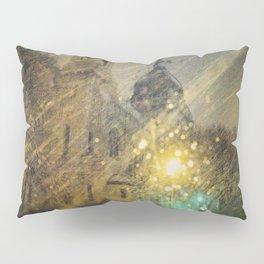 Basilica in Winter Pillow Sham