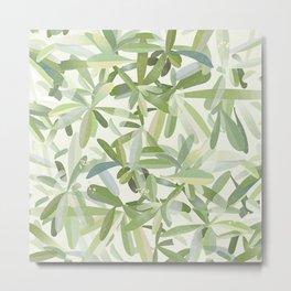 Fantasia foglie Metal Print