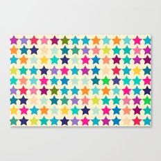 Star Lab Colors  Canvas Print