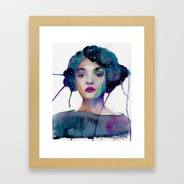 Mary Jackson Framed Art Print
