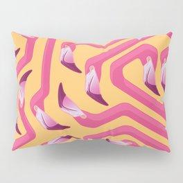 Flamingo Maze Pillow Sham