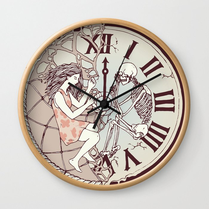 Life is But a Dream Wall Clock