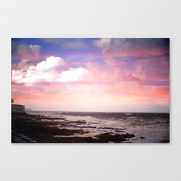 Sunset on The Ho Canvas Print