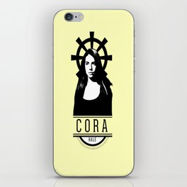 Can see your halo: Cora iPhone Skin