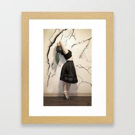 Dancing with Destruction Framed Art Print