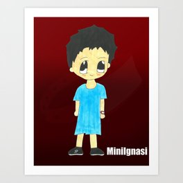 MiniIgnasi Art Print