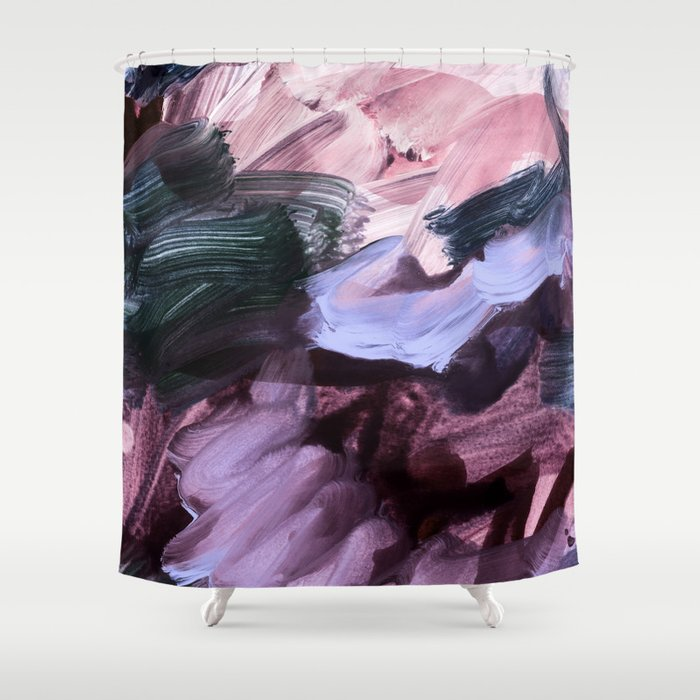 abstract painting VII Shower Curtain