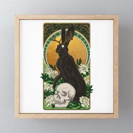 Guardian of Light and Death Framed Mini Art Print