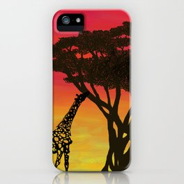 Grabbing Lunch iPhone Case