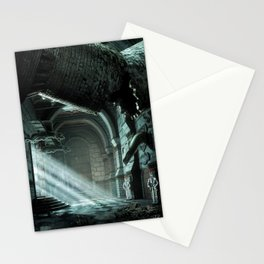 Castle Corridor Stationery Cards