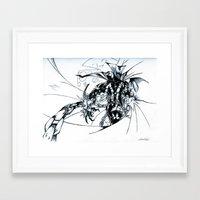 spawn Framed Art Prints featuring Spawn by Omnivium