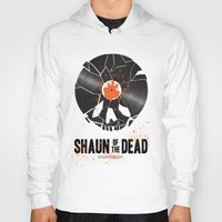 shaun of the dead Hoodies featuring Shaun of the dead by Wharton